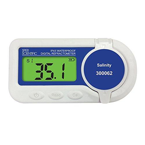 Sper Scientific 300062 Waterproof Digital Refractometer Salinity
