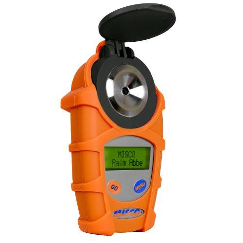 MISCO VINO5 Palm Abbe Digital Handheld Refractometer Wine Scales Brix Probable Alcohol Actual Sugar Actual Alcohol Specific Gravity
