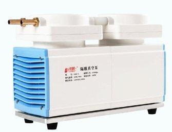 120 Lmin Lab oiless Diaphragm Vacuum Pump large flow diaphragm pump laboratory filter suction pump Oil Free Dual Head GM-2 CE certificate 300W