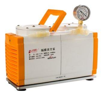 60 Lmin Lab oiless Diaphragm Vacuum Pump Oil Free Dual Head Antiseptic GM-1A CE certificate
