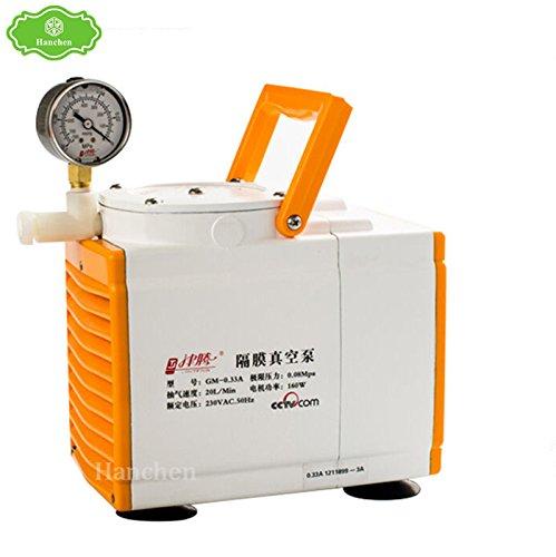 Diaphragm Vacuum Pump Oil Free for Laboratory 20Lmin GM-033A 220V Antiseptic