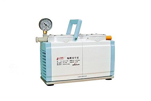 GM-033B Diaphragm Vacuum Pump Oil Free Vacuum PumpDual Head 20 Lmin