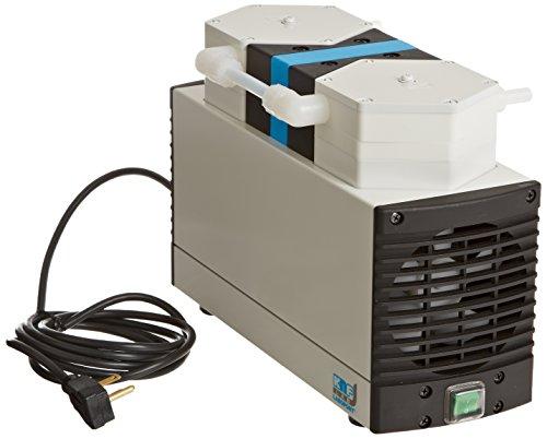 KNF LABOPORT N8403FTP Two-Stage Diaphragm Vacuum Pump Corrosion-Resistant 34 LPM 8 Torr