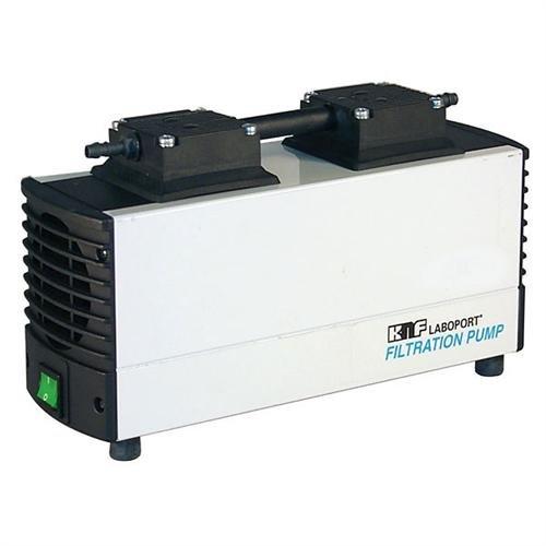 KNF Neuberger N81612 KTP Laboport Mini Diaphragm Vacuum Pump PPS PTFE and FFPM Diaphragm 120 Torr 74psig Pressure