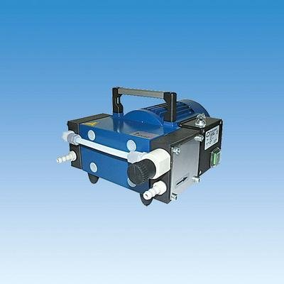 Oil-Free Chemical Resistant 2 Stage Diaphragm Vacuum Pump - Chemical Resistant Diaphragm Vacuum Pump Ace Glass