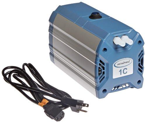 Vacuubrand 721103 Compact Oil-Free Diaphragm Vacuum Pump Model ME1C 14 LPM Corrosion Resistant 100 to 120V
