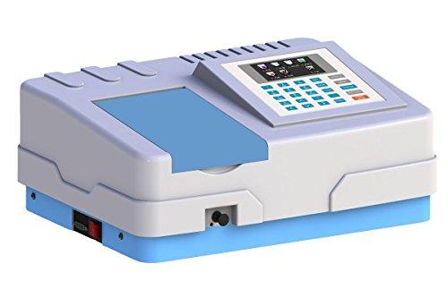 Aiken 70891600 Model AK380 UV Visible Spectrophotometer Single Beam Optical System 60 cm Length 42 cm Width 24 cm Height 110V 60 Hz