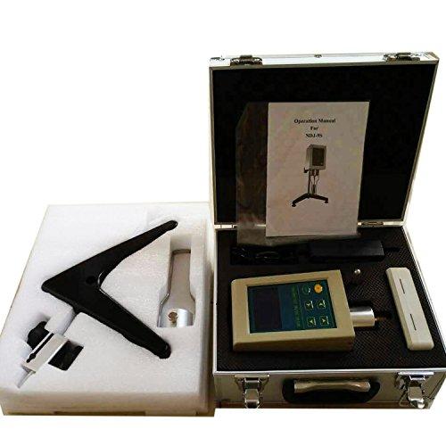 NDJ-9S Digital Rotational Viscosity Meter Viscometer rotary visometer Rotary Viscometer Viscosity Fluidimeter Tester Meter with Digital Display Newton Liquid Viscometer Tester meter  White and Blue