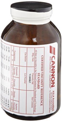 Cannon Viscosity Standards for Thomas Stormer Viscometer N1000KU Viscosity Standard