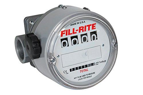 Fill-Rite TN860AN1CAB1LAC High FlowHigh Pressure Rugged Application Meters 150 PSI 1-12 NPT 23 to 230 LPM 3-22 Viscosity Range