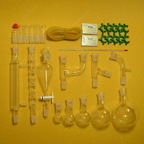 NANSHIN Glasswarenew advanced organic chemistry lab glassware kit 2429-29pcslab glassware kit