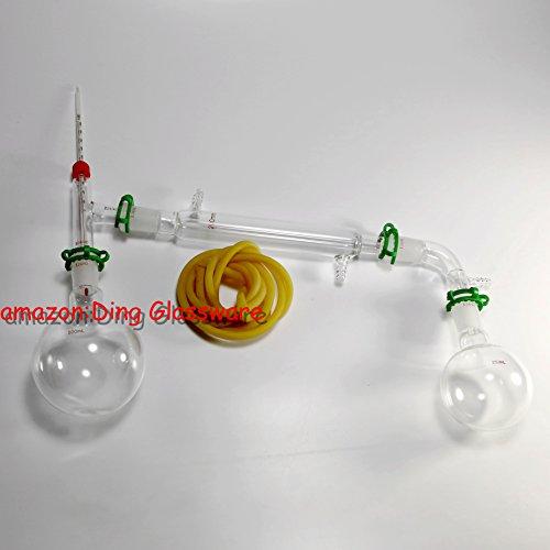 Ding Glassware500ml Chemistry Lab Glassware Kitglass Distillingdistillation Apparatus2440