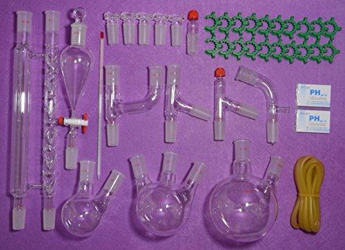 NANSHIN Glasswarelab glassware kit 2440Advanced Chemistry Lab GlasswareLaboratory glassware