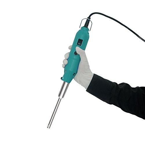 MXBAOHENG Handheld Homogenizer Lab Disperser for Liquid Mixing Emulsifying Tissues Mashing Adjustable Speed 5000-35000RPM