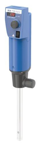 IKA Works 3720001 T 18 Digital Ultra-TURRAX Disperser 1 to 1500 mL Volume Range 115V 5060 Hz 3000 to 25000 RPM Speed Range 87 mm W x 271 mm H x 106 mm D