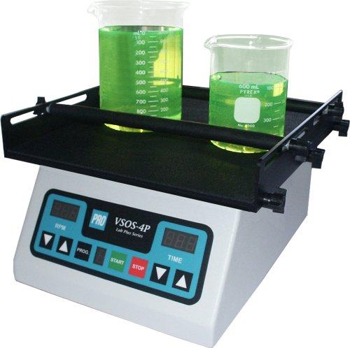 PRO Scientific PRO-576500-00 VSOS-4P Programmable Digital Orbital Shaker 220V 20 to 300 rpm 110lbs Load Rating
