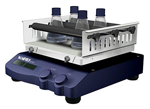 Waverly S2C-Pro LCD Digital Orbital Shaker with 9x9 anti-slip platform 120V