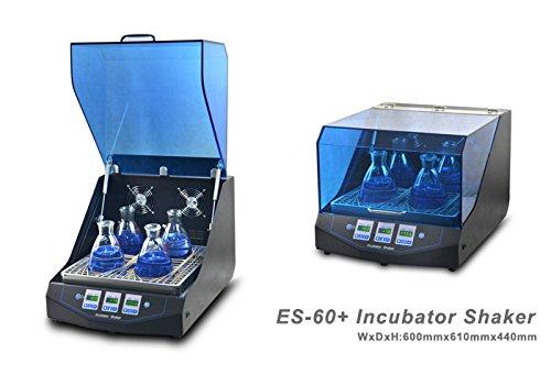 Temperature Controlled ES-60 Incubator Shaker Scientific Incu-Shaker Shaking Incubator RT5 ~60°C Speed 50-300rpm