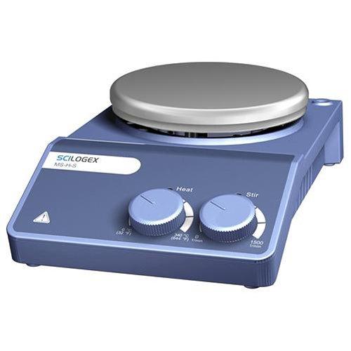 Scilogex 81112102 MS-H-S Analog Magnetic Hotplate Stirrer Porcelain Plate 110V60Hz 5-27 Diameter