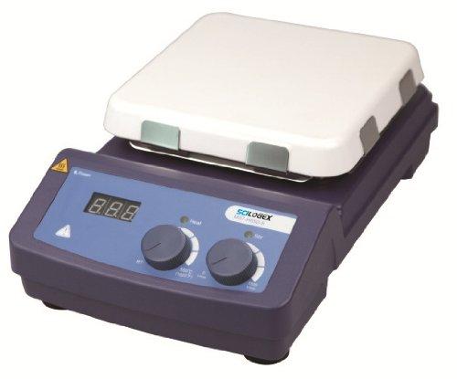 Scilogex MS7-H550-S Ceramic-Glass Analog Magnetic Hotplate Stirrer 7 x 7 Plate Size 110V