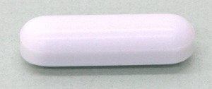 SEOH Magnetic Stir Bar Plain PTFE 6 x 25mm Pack of 6