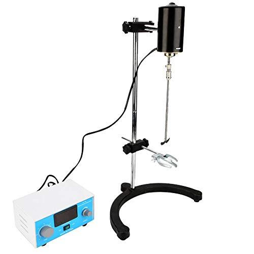 Lab Digital Overhead Stirrer Mixer100W Precision Digital LCD Display Stirrer Mixer with Stirring Rod for Lab UseUS Plug