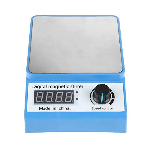 Jacksking Magnetic Stirrer 100-240V 0-3000RPM Digital Magnetic Laboratory Stirrer Mixer Plate Control ZGCJ-3AMagnetic Mixer