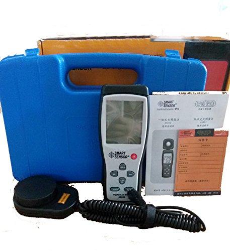 AS823 Digital Illuminance meter Lux meter light spectrum meter Luminometer luxmeter with portable Spectrometer prices 1~100000lux light meters  Gray