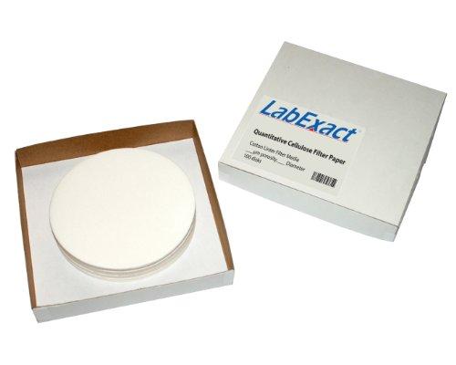 LabExact 1200066 Grade CFP40 Quantitative Cellulose Filter Paper 80µm 110cm Pack of 100