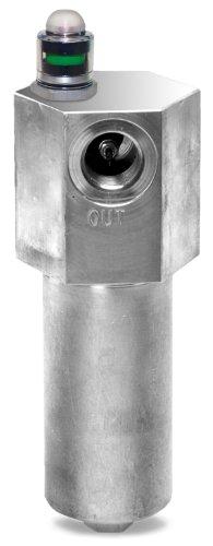 Schroeder NF301NZ10SD5 Asm Top-Ported Pressure Filter Cellulose Filter Cartridge Removes Rust Metallic Debris Fibers Dirt 20 gpm 10 Micron
