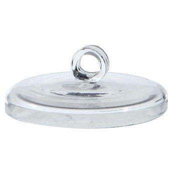 Cole-Parmer Quartz Crucible Lid 150 mL 1 ea