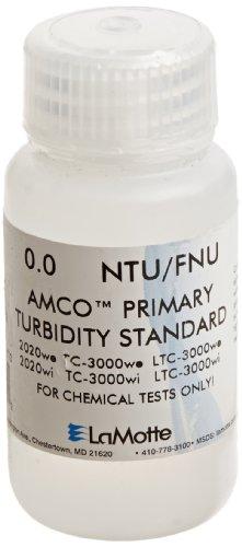 LaMotte 1480 Turbidity Standard ISO and EPA for 2020TC-3000 Turbidity Meter 0 NTU 60 mL Volume