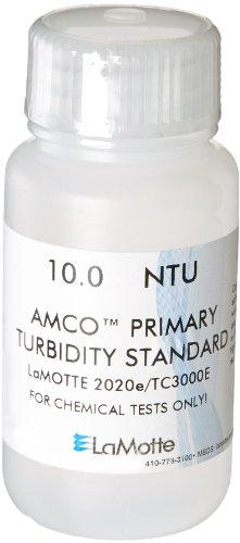 LaMotte 1485 Turbidity Standard EPA for 2020ETC-3000E Turbidity Meter 10 NTU 60ml Volume
