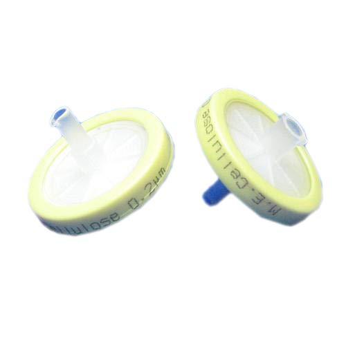 JG Finneran FPP0225PC Polypropylene Syringe Filter 25 mm Diameter 02 µm Pore Size Transparent Pack of 100