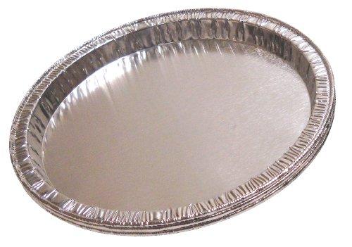 Qorpak 234795 Disposable Aluminum Moisture Balance Pan 5 Diameter x 38 Depth Case of 1000