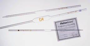 Fisherbrand Reusable Class A Volumetric Pipets 8mL Cap