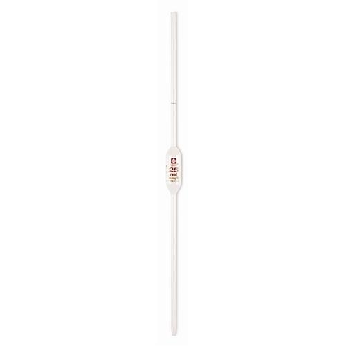 VEE GEE Scientific 2040-20-3MM Glass Wide Tip Volumetric Pipet Class B 20 mL Capacity Pack of 6