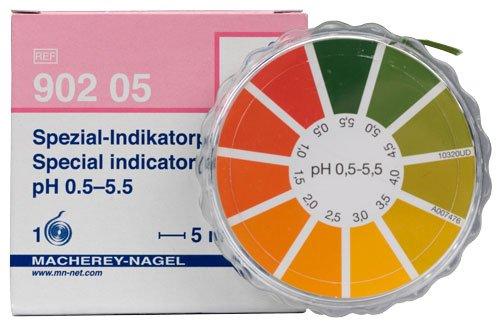 Macherey-Nagel 90205 Special Indicator pH 05-55 Dispenser Roll Of 5 Meter Length