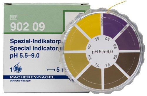 Macherey-Nagel 90209 Special Indicator pH 55-90 Dispenser Roll Of 5 Meter Length