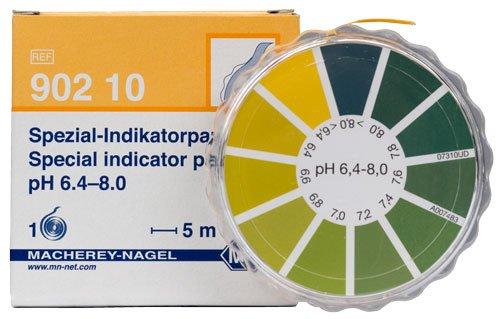 Macherey-Nagel 90210 Special Indicator pH 64-80 Dispenser Roll Of 5 Meter Length