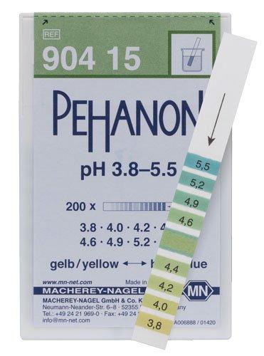 Macherey-Nagel 90415 Pehanon pH 38-55 Box Of 200 Strip