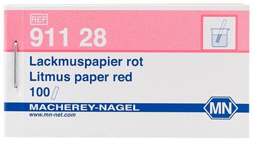 Macherey-Nagel 91128 Litmus Paper Red 50-80 Booklet Of 100