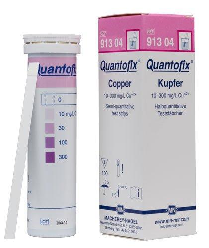 Macherey-Nagel 91304 Quantofix Copper Box Of 100 Strips