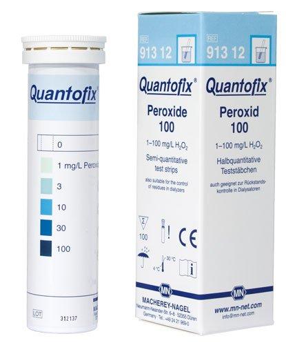 Macherey-Nagel 91312 Quantofix Peroxide 100 Box Of 100 Strips