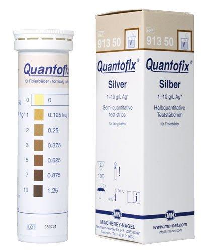 Macherey-Nagel 91350 Quantofix Silver Box Of 100 Strips