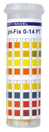 Macherey-Nagel 92111 pH-Fix 0-14 In Snap Cap Tube Box Of 100 Strips
