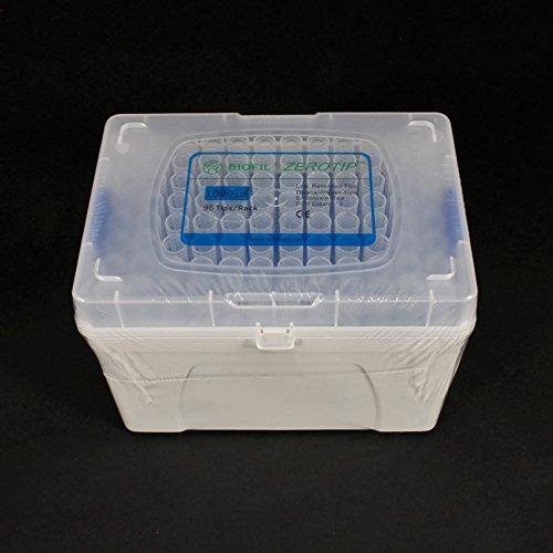 Pipette Tips 100 - 1000 uL JET ZEROTIP Sterile Rack of 96