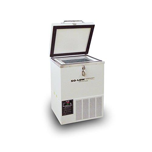 So-Low C85-2 Mini Ultra Low Chest Freezer 230V 2 Cu Ft Temperature Range -40°C to -85°C