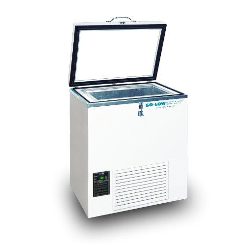 So-Low C85-5C Ultra Low Chest Freezer 230V 5 Cu Ft Temperature Range -40°C to -85°C