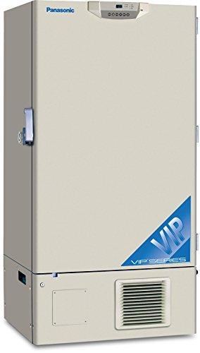 Panasonic MDF-U76VC-PA VIP Series Ultra-Low Temperature Upright Freezer -86 Degree C Cooling Performance 208-230V 350 Degree C